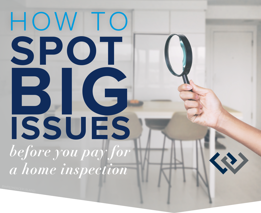 How to Spot Big Issues Before You Pay for a Home Inspection