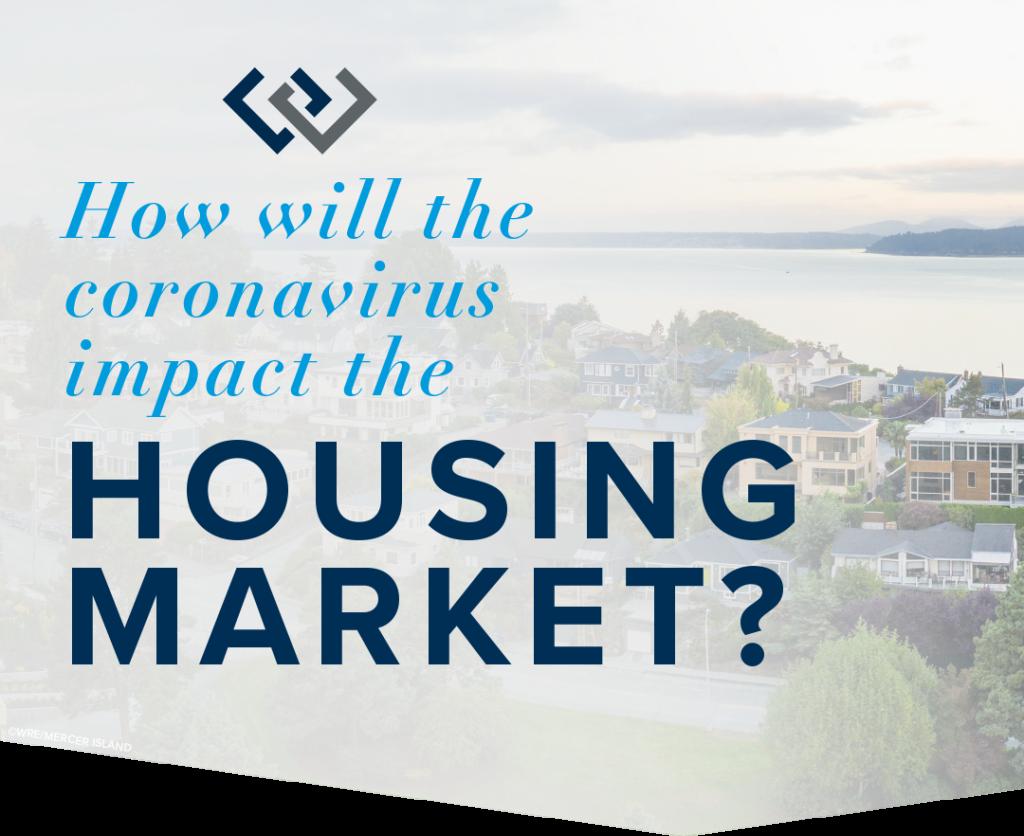 How will the coronavirus impact the housing market?